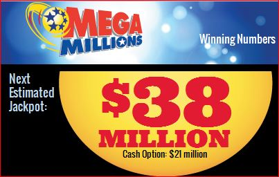next jackpot mega millions friday april 18