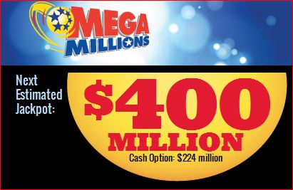 mega millions jackpot 400 millions tuesday march 18